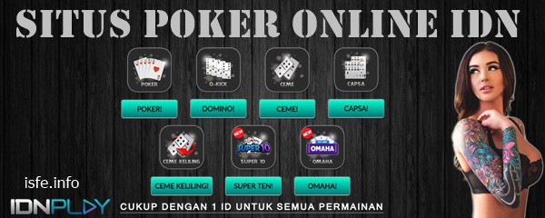 Situs Poker Online IDN Terbaik