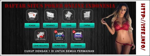 Daftar Situs Poker Online Indonesia